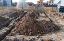 zemní a výkopová práce bagrem
